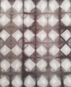 Black and Gray Diamond Shibori